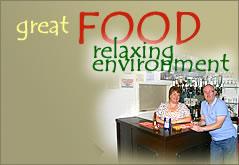 Great Food - Relaxing Environment