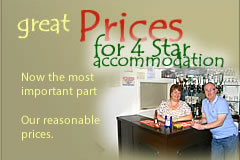Great 4 Star Accommodation Prices